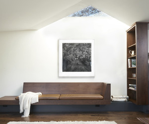 bed, interior, and minimal image