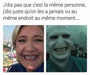 sourire, tweet, and voldemort image