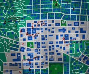 13 reasons why and map image