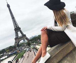 blonde, eiffel, and paris image
