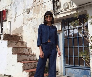 fashion, jeans, and vintage image