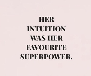 quotes, intuition, and pink image