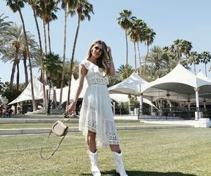 coachella, dress, and fashion image