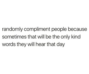 quotes, compliment, and text image