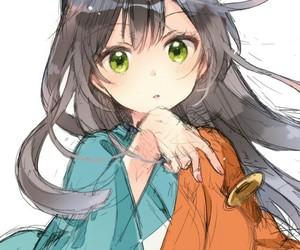 anime girl, kawaii, and cute image
