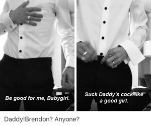 brendon urie, daddy, and little girl image
