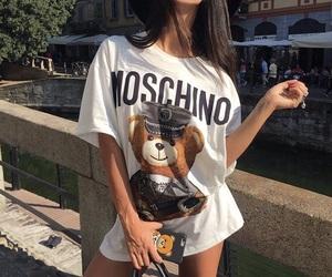 fashion, Moschino, and style image