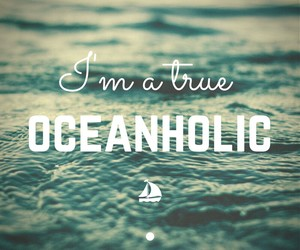 ocean, summer, and quotes image