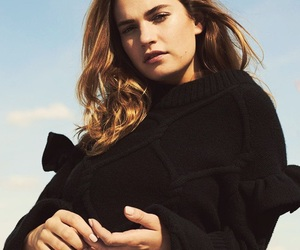 pretty, lily james, and actress image