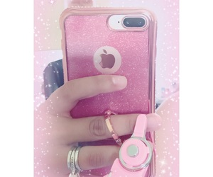 case, glitter, and kawaii image