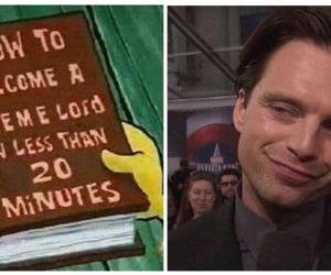 meme, clown, and spongebob image