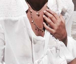 necklace, style, and summer image