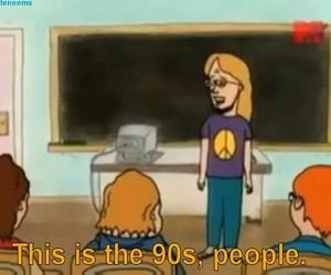 90s, cartoon, and mtv image