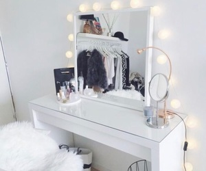makeup, home, and room image