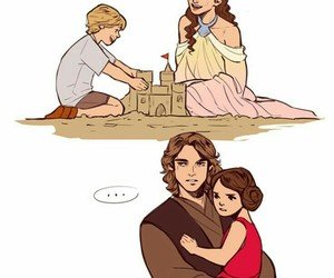 star wars, Anakin Skywalker, and luke skywalker image