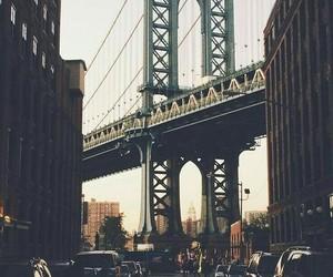 city, wallpaper, and bridge image