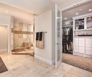 closet, luxury, and bathroom image