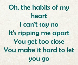 oh the habits of my heart image