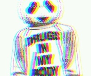 drugs, panda, and body image
