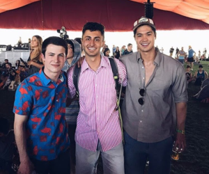 coachella, 13 reasons why, and ross butler image