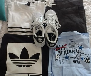 adidas, instagram, and outfit image