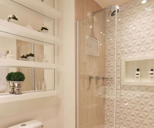 bathroom, decor, and apartment image
