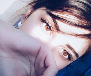 aesthetic, brown eyes, and tumblr image