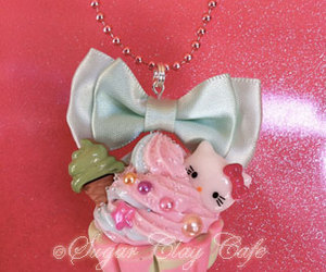 adorable, bling, and chain image