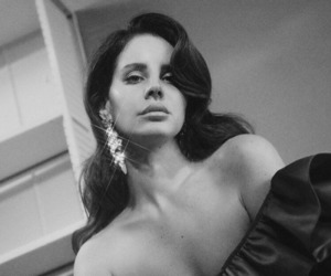 alternative, black and white, and ️lana del rey image