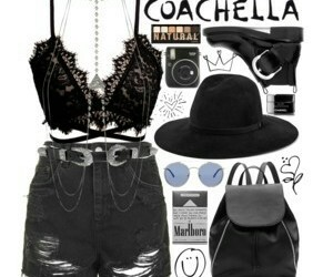 coachella, cool, and outfits image