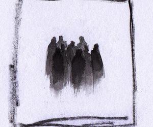 art, beautiful, and dark image