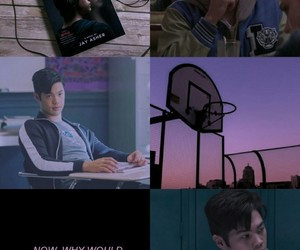 zach, 13 reasons why, and ross butler image