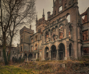 abandoned, forgotten, and chateau image