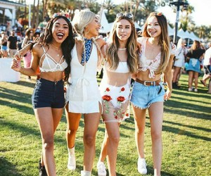 coachella, festival, and savage squad image