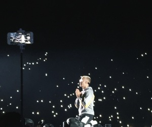 concert, crowd, and justin image