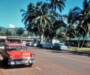 hawaii, vintage, and car image