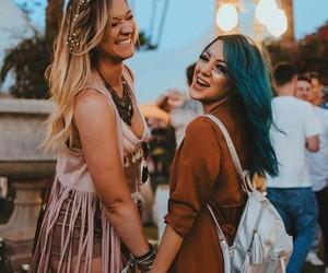 coachella, happy, and smile image