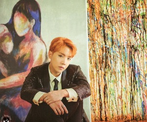 wings, bts, and jhope image