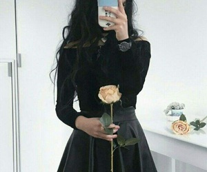 aesthetic, rose, and ulzzang image