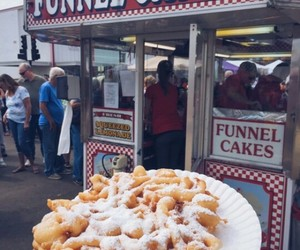 food and funnel cake image