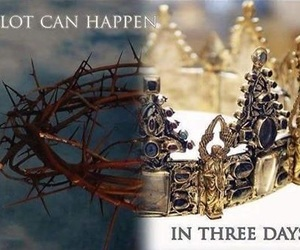 god, crown, and jesus image