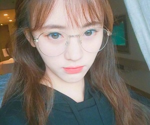 beautiful, glasses, and snh48 image