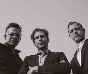 bands, black and white, and daniel kessler image