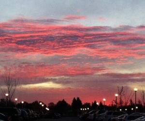 sky, tumblr, and pink image