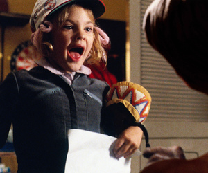 e.t. (1982) and very young drew barrymore image