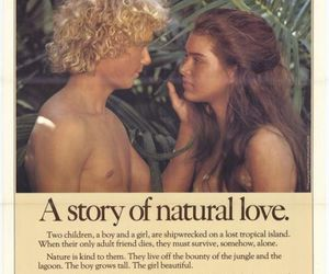young brooke shields, the blue lagoon 1980, and young christopher atkins image