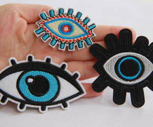embroidery, eyes, and appliqués image