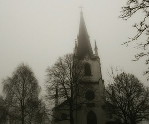 church, grey, and sweden image