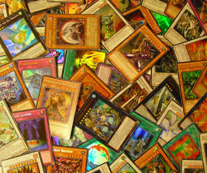 card, nerdy, and yugioh image