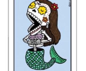 art, dia de los muertos, and loteria image